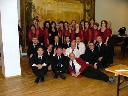 """Memory"" tour with Vanemuise Theatre's opera choir 2007"